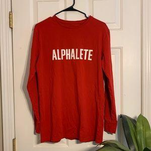 ALPHALETE long sleeve